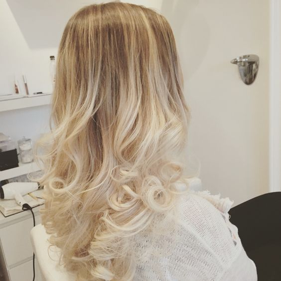 Beautiful blond ❤️olaplex