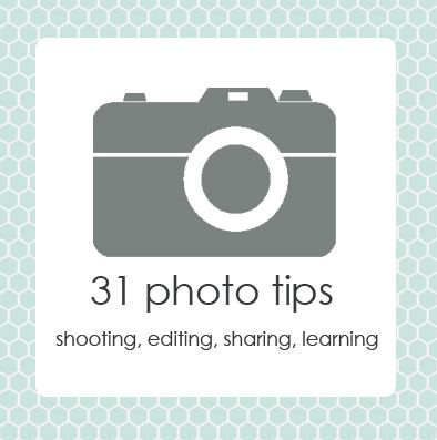31 tips for improving your photography, buying gear, learning more and sharing the results.