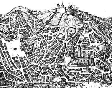 Resultado de imagem para mapa Lisboa medieval