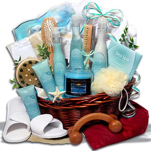 Home Spa Gift Ideas: A Luxurious Spa Basket Is An Awesome Gift For Most Women