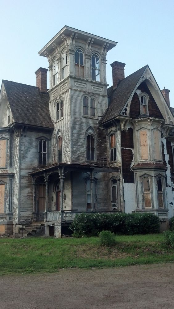 Coudersport. It's a shame this old building is falling down. I do hope someone steps up to save it's life!