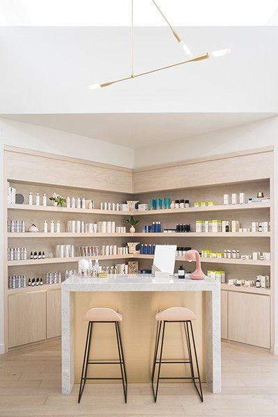 Beauty Counter - This Is The Most Beautiful Waiting Room We've Ever Seen - Photos