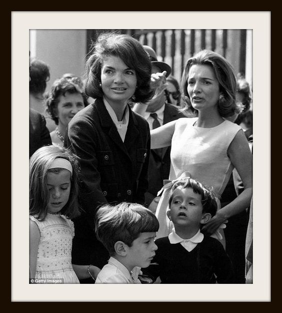 Jackie & Lee — with Jackie Kennedy Onassis, John F. Kennedy Junior and Lee Radziwill.