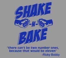 Talladega Nights The Ballad of Ricky Bobby Shake N & Bake blu ray dvd T Shirt
