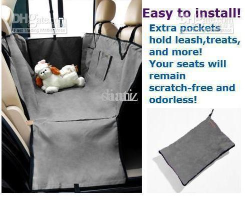 Online Cheap New Pet Dog Car Seat Cover Waterproof Hammock Grey Purple Green By Dianz | Dhgate.Com