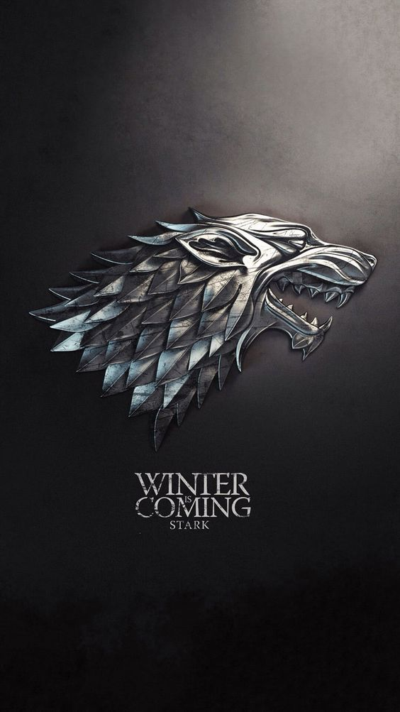 iPhone, Winter is Coming, Game of Thrones, Black - Wallpaper