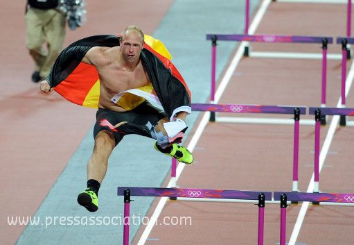 After victory, anyone can get you carried away!  Daily Olympic Update: 7 Aug 2012 (with images) · tweetsportcouk · Storify