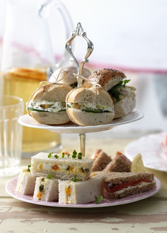 Anyone for afternoon tea on the lawn? Try these classic sandwiches with a delicious twist.
