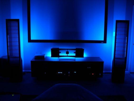 led tvs and lights on pinterest. Black Bedroom Furniture Sets. Home Design Ideas