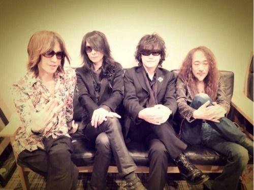 Sugizo, Heath, Toshi, & Pata