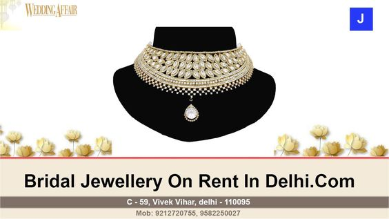 Bridal Wedding Jewellery On Hire | Usefull Information