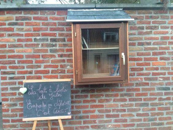 Boîte à livres Thulin
