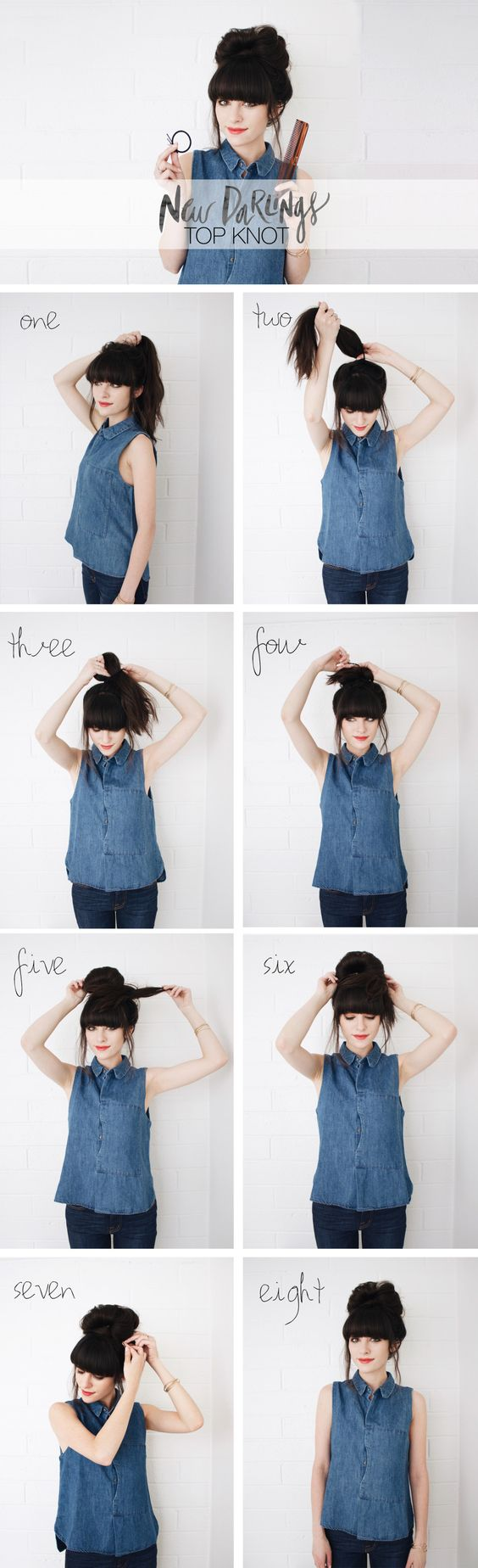 New Darlings - Top Knot Tutorial: