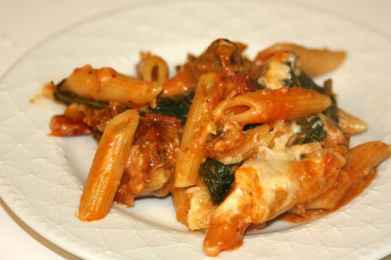 Box: Baked Pasta with Chicken Sausage | Main Dish | Pinterest | Pasta ...
