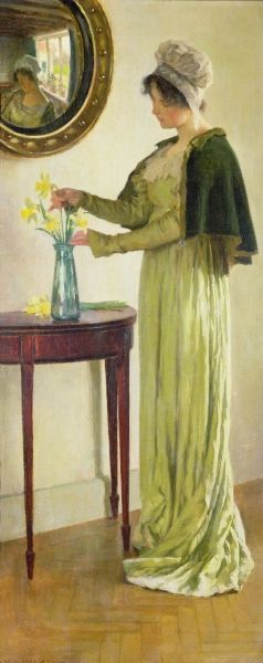 William Henry Margetson (1861-1940) - Harbingers of Spring, 1911: