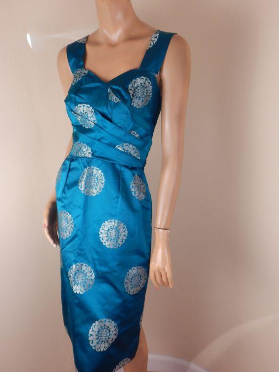 Vintage Sarong Kleid Vintage Kleidung der Frauen von stilettoRANCH