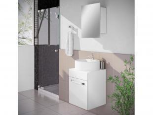 Gabinete para Banheiro com Cuba 1 Porta - Itatiaia Aura