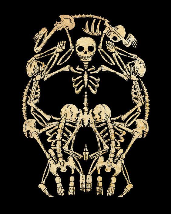 Skulls - by Paulorocker