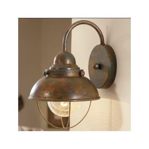 Antique Wall Light Mounted Vintage Rustic Decor Fixture Set Of 2 Value Pack New #AntiqueLights #Nautical