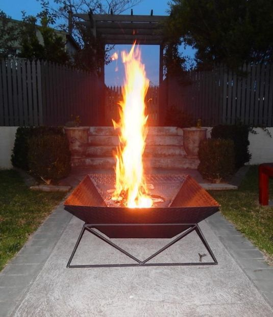 how to make a garden fire pit