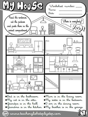 Sopa De Letras Rooms Of House