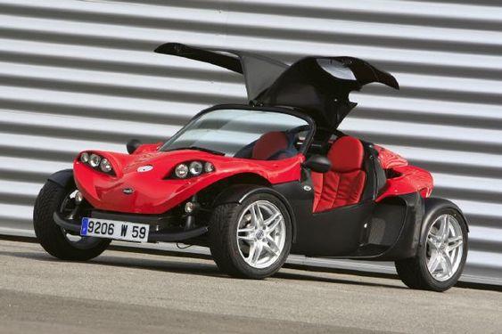 Secma F16 Roadster mini car for recreation