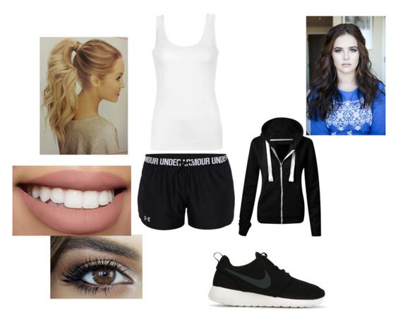 """Nice to meet you Jaden"" by mshotts-1 ❤ liked on Polyvore featuring Under Armour, Ally Fashion, NIKE, Sephora Collection, women's clothing, women's fashion, women, female, woman and misses"