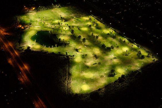 Night Shot Golf Course