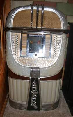 Vintage Ami Jukebox Model 500 A 1940s Quot Mother Of Plastic