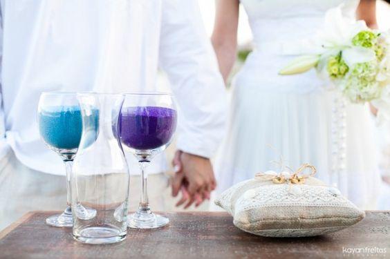Mini beach wedding!
