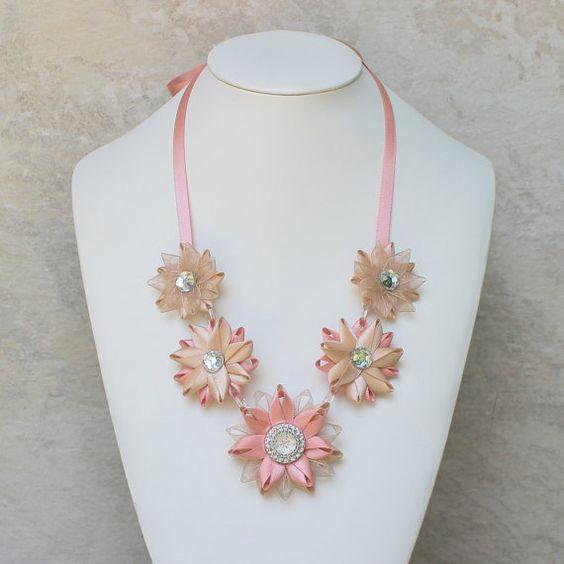 Hypoallergenic Necklace ~ Nickel Free, Non Metal Hypoallergenic Jewelry by PetalPerceptions, $20.00