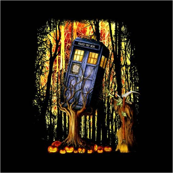Doctor Who Police Box TARDIS Comforter Cover