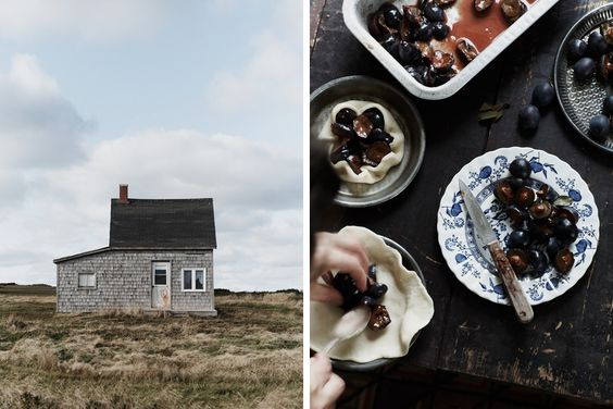 On Prince Edward Island. Photo by Michael Graydon, styling by Nikole Herriott on Forty Sixth at Grace
