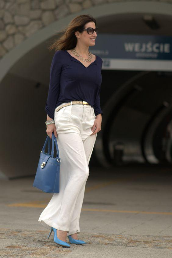 Pinot noir fashion : Wide trousers