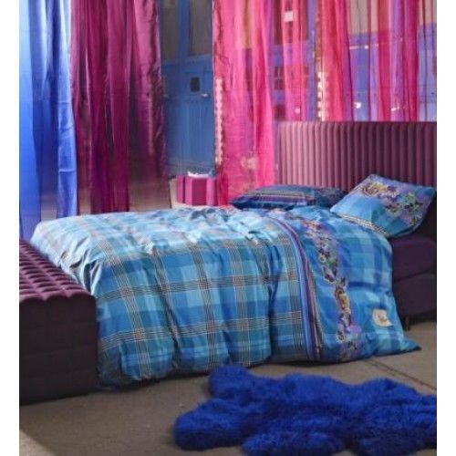 Sfeervolle Slaapkamer! Essenza dekbedovertrek delight blue