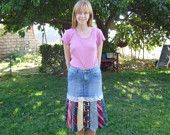 Train Tie Skirt. $50.00, via Etsy.