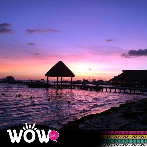 El atardecer mas hermoso lo admiras con la persona especial en la Riviera Maya #Wow www.mexicoexplorer.com