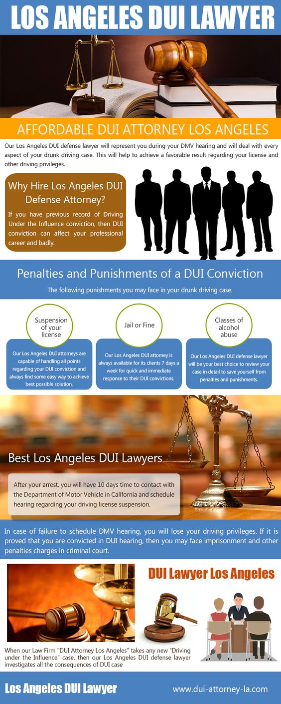 Los Angeles DUI Lawyer & Attorneys