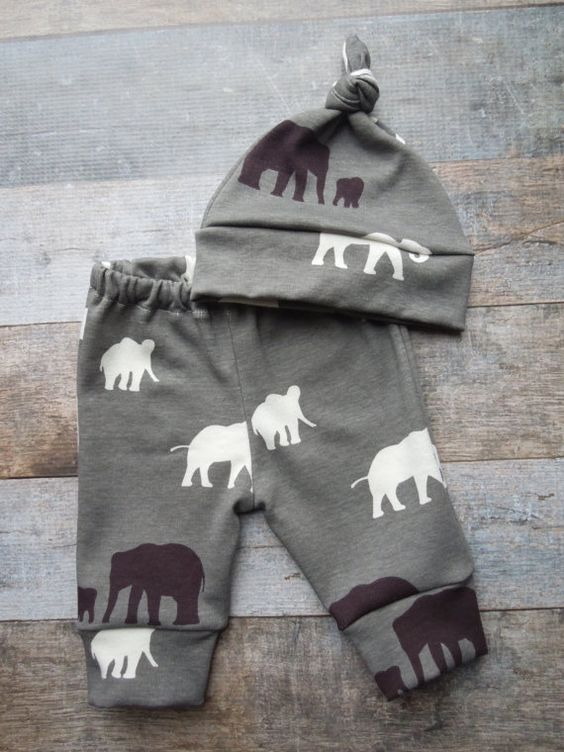 Baby Boy Going Home Outfit Organic Baby by LittleLotusOrganics