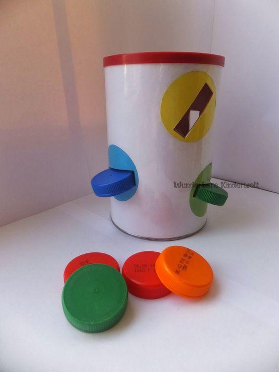Wunderbare Kinderwelt: selbstgemachtes Spielzeug zur Feinmotorik
