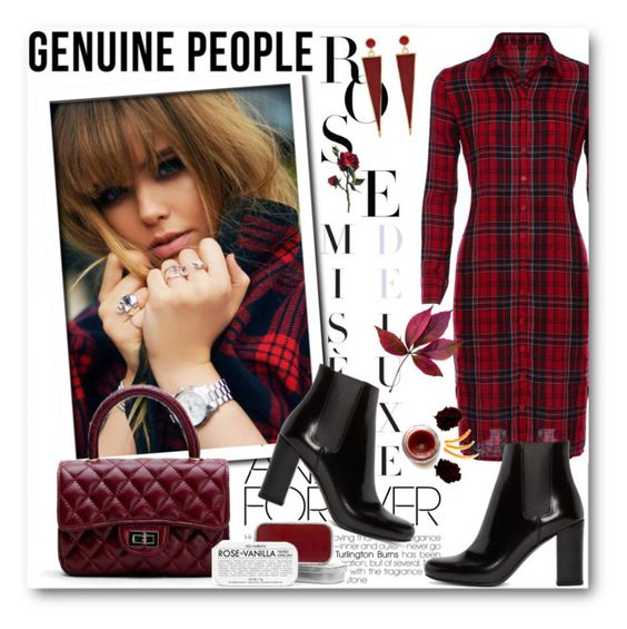 """Genuine people 8"" by fashionmonsters ❤ liked on Polyvore featuring Yves Saint Laurent, Fig+Yarrow, women's clothing, women, female, woman, misses and juniors"