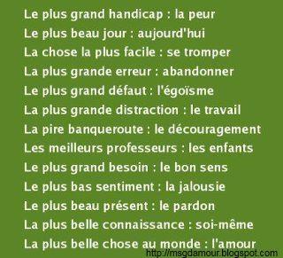 citation et proverbe en image | Poème d'amour - SMS d'amour - Phrase d'amour - Citation d'amour et Message d'amour