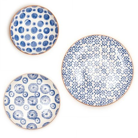 Hand-Stamped Dinnerware from Poketo