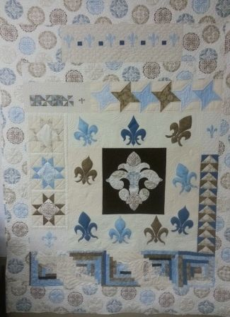 Visit my blog for a tutorial on binding your quilt.   http://fleurdelisquilts.blogspot.com/2012/11/attach-your-binding.html
