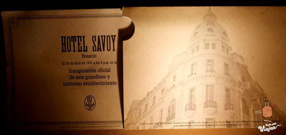 Entrada Inauguración Hotel Esplendor Savoy Rosario
