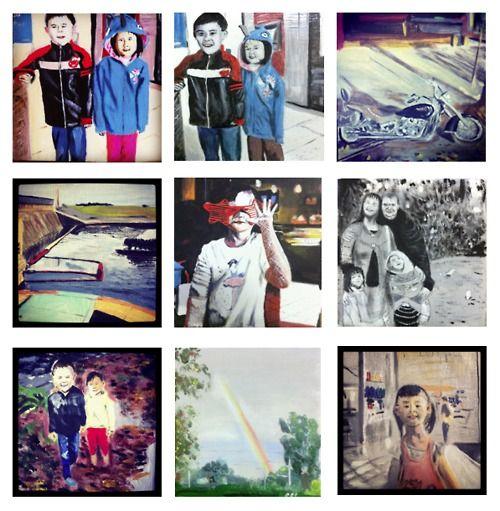 Instagram paintings - Mark's Tumblr