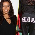 Very invested for President Barack Obama, Eva Longoria has stopped