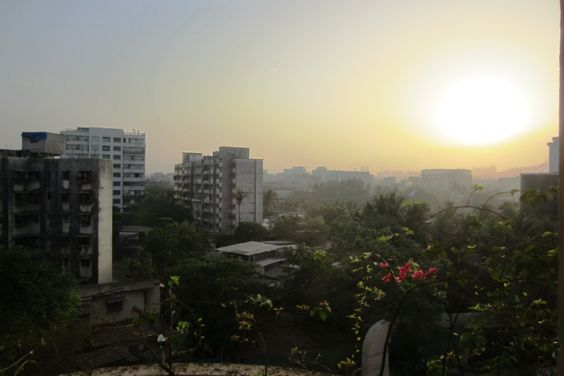 Hotel View of Mumbai, photo taken by Children's HeartLink staff