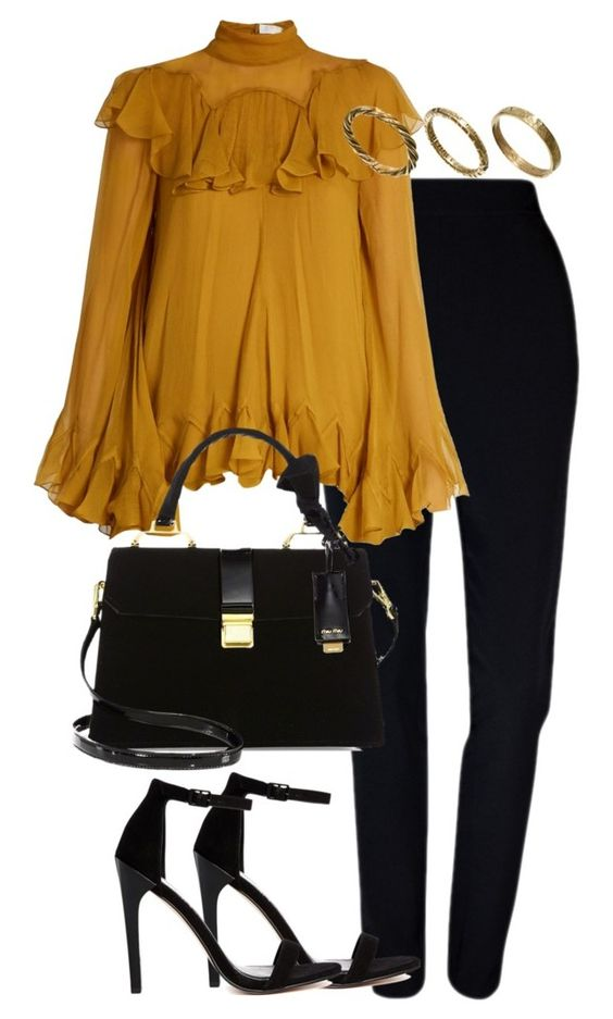 """""""Untitled #2826"""" by theeuropeancloset on Polyvore featuring Plakinger, Chloé, ASOS, Miu Miu and Made"""