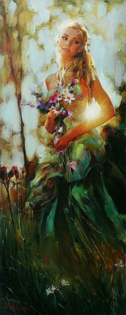 illustration/painting by michael & inessa garmash: